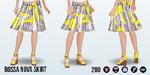 BrazilianDay - Bossa Nova Skirt