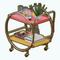 PalmSpringsModernismDecor - Round Bar Cart
