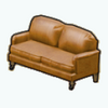 RusticDecor - Rustic Leather Couch