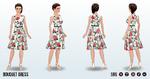 MothersDay - Bouquet Dress