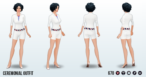 SummerGames - Ceremonial Outfit