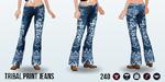 GreatOutdoors - Tribal Print Jeans