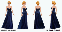 EveningSoiree - Midnight Soiree Gown