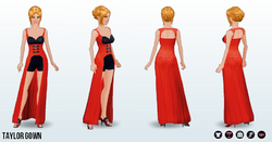 PopStar - Taylor Gown