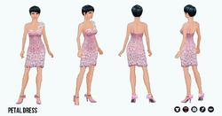 PinkAndPretty - Petal Dress
