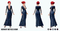 FemmeFatale - Midnight Mistress Gown