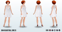 SohoChicSpin - Boho Babydoll Dress