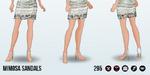 LadiesWhoBrunchSpin - Mimosa Sandals