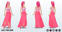ValentinesDay - Lovely Pink Gown