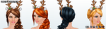 Caroling - Rudolph Headband