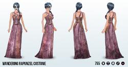 ZombieFairyTales - Wandering Rapunzel Costume