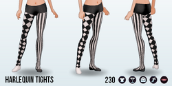 ClownCompetition - Harlequin Tights