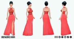SpringFlingClothing - Grenadine Gown