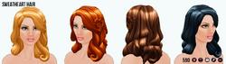 GirlInRedClothing - Sweetheart Hair