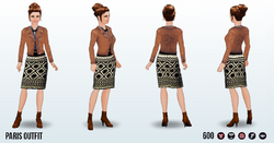 WorldTravellerSpin - Paris Outfit