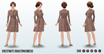 Caroling - Chestnuts Roasting Dress