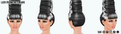 MonsterBash - Lady Frankenstein Wig