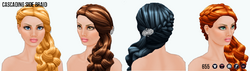 TheVault - Cascading Side Braid