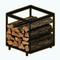 EnchantedWinterDecor - Modern Firewood Holder