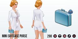 JetsetChic - Mini Suitcase Purse