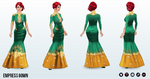 ChineseNewYear - Empress Gown