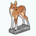FloraAndFaunaSpreeSpin - Fawn Statue
