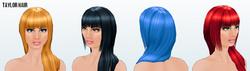 Nanowrimo - Taylor Hair