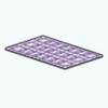 JewelSpin - Purple Lattice Rug
