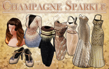 BannerCollection - ChampagneSparkle