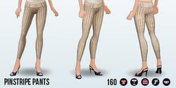 CafeRaffle - Pinstripe Pants