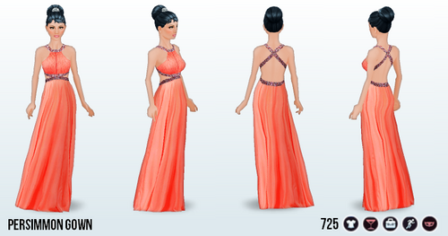 CounterfeitingDoesntPay - Persimmon Gown
