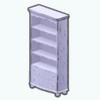 NewEnglandDecor - Distressed Bookcase