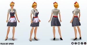 Career - Polka Dot Apron