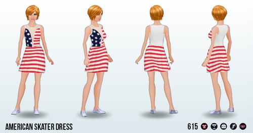 FourthOfJuly - American Skater Dress