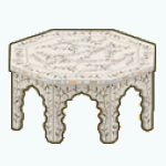 GirlOfPearlDecor - Pearl Inlay Coffee Table