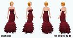 WorldTravellerSpin - Milan Gown