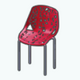 CanadaDay - Red Tree Chair