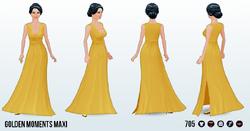 WeddingGuest - Golden Moments Maxi