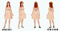 PrettyInPastel - Sherbet Dress