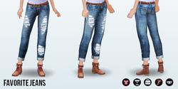 AutumnStreetStyleSpin - Favorite Jeans