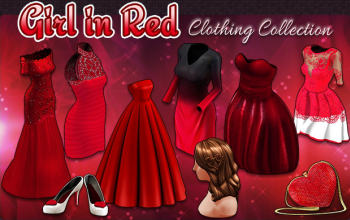 BannerCollection - GirlInRedClothing
