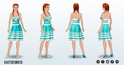 EasterVintage - Easter Dress