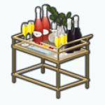 LadiesWhoBrunchSpin - Sparkling Juice Cart