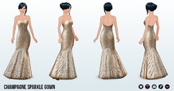 ChampagneSparkle - Champagne Sparkle Gown