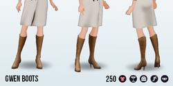 CafeRaffle - Gwen Boots