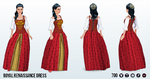 RenFaire - Royal Renaissance Dress