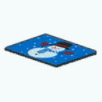 ChristmasDecor - Snowman Welcome Mat