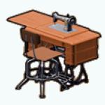 Career - Antique Sewing Machine