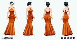 FallRunway - Amber Gown