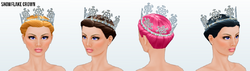 IcePrincessClothing - Snowflake Crown